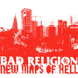 BAD RELIGION-NEW MAPS OF HELL DELUXE CD DVD  VGPLUS