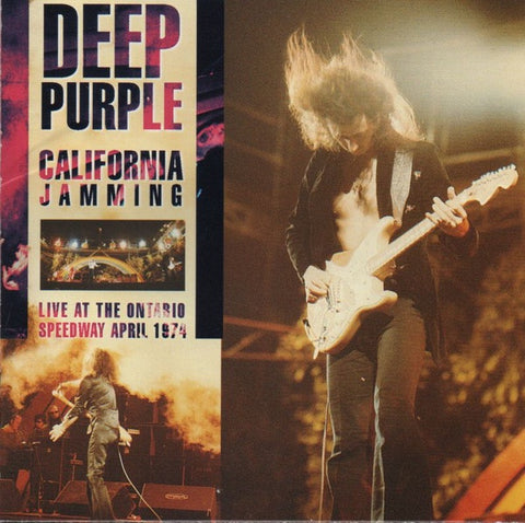 DEEP PURPLE-CALIFORNIA JAMMING: LIVE 1974 CD VG+
