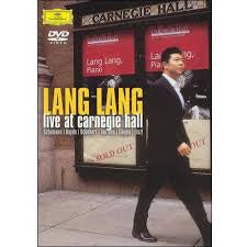 LANG LANG-LIVE AT CARNEGIE HALL DVD *NEW*