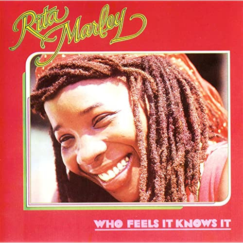 MARLEY RITA-WHO FEELS IT KNOWS IT LP VG+ COVER VG