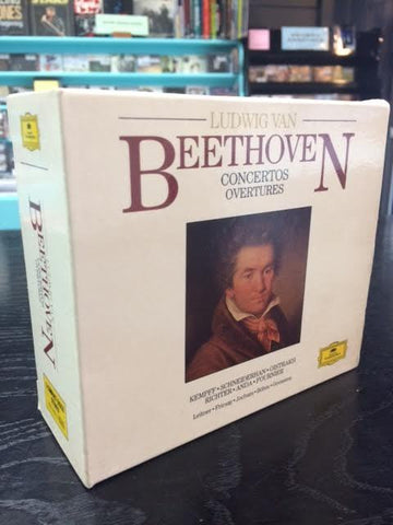 BEETHOVEN-CONCERTOS OVERTURES 5CD BOX SET VG+