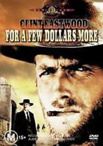 FOR A FEW DOLLARS MORE-CLINT EASTWOOD DVD VG