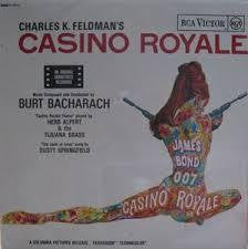 CASINO ROYALE-OST LP VG+ COVER VG+