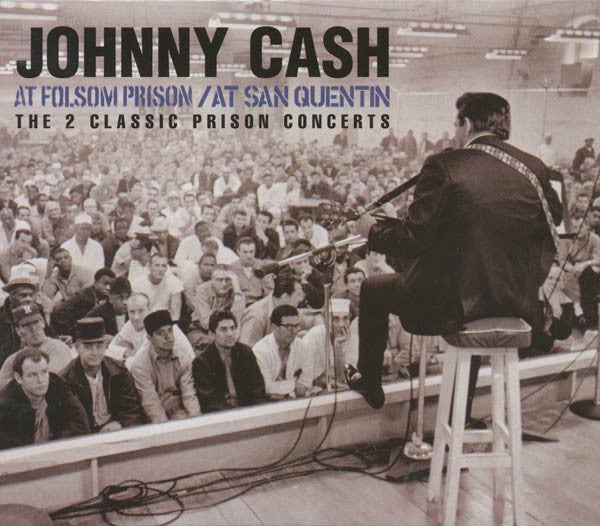 CASH JOHNNY-AT FULSOM PRISON AT SAN QUENTIN 2CD VG