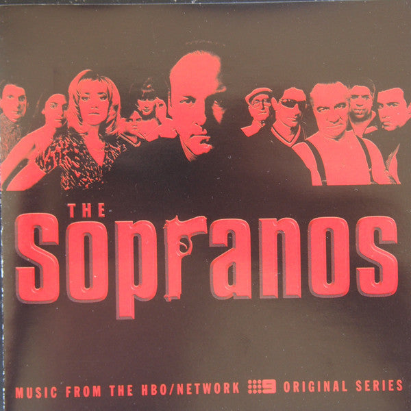 SOPRANOS THE-ORIGINAL SOUNDTRACK VARIOUS ARTISTS CD VG