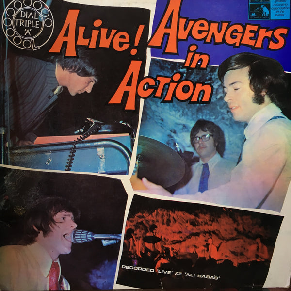 AVENGERS THE-ALIVE! AVENGERS IN ACTION LP G COVER VG