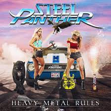 STEEL PANTHER-HEAVY METAL RULES CD *NEW*