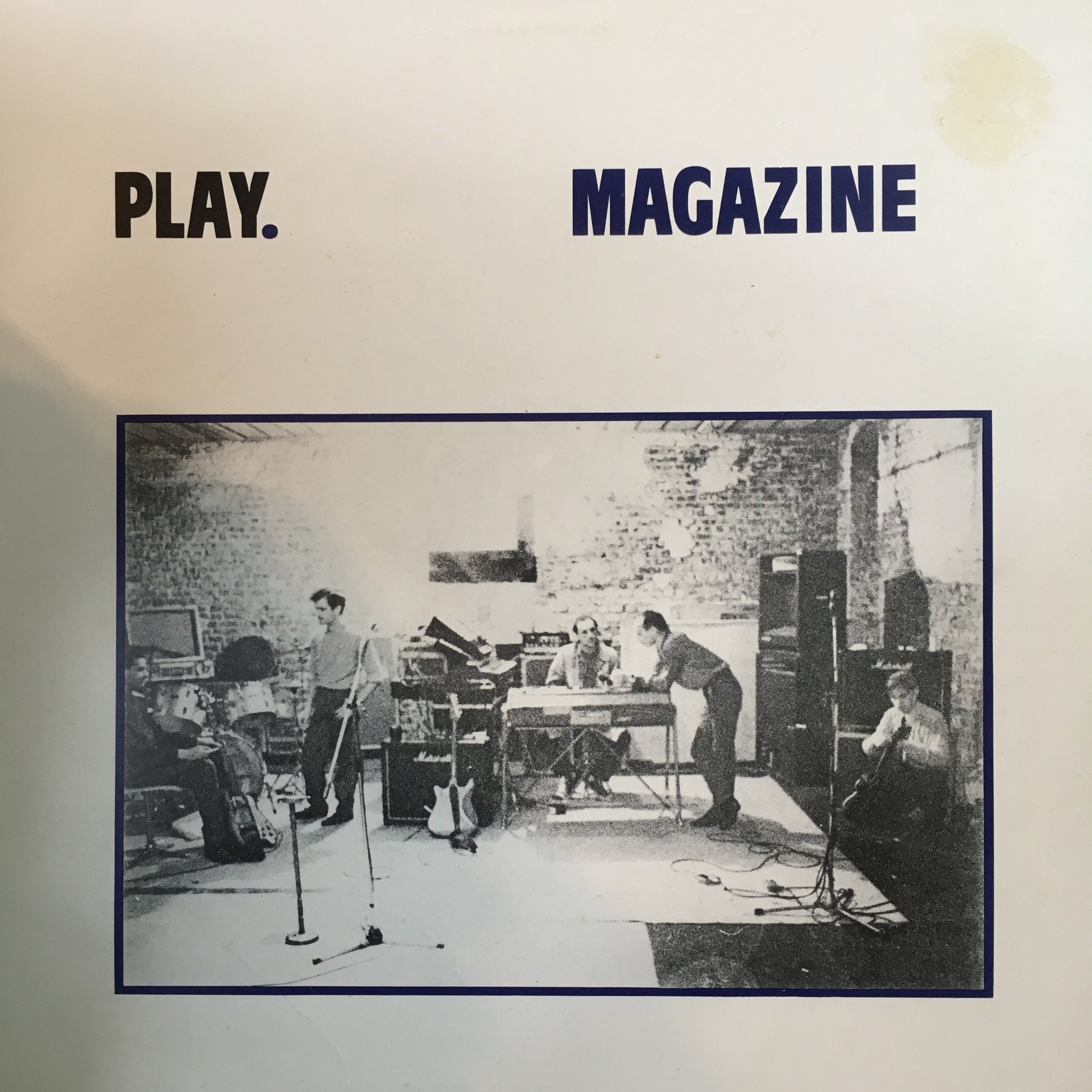 MAGAZINE-PLAY LP VG COVER VG