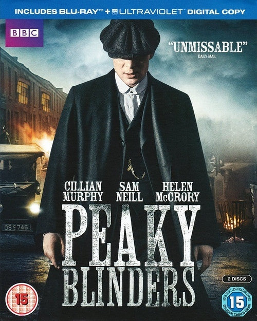 PEAKY BLINDERS BLURAY 2 DISCS VG