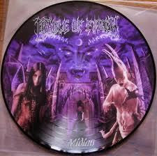 CRADLE OF FILTH-MIDIAN PICTURE DISC VG+