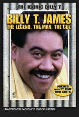 JAMES BILLY T.-THE LEGEND, THE MAN, THE CUZ DVD VG+