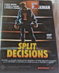 SPLIT DECISIONS DVD VG+