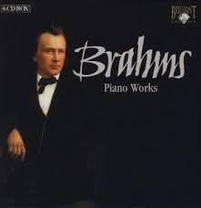 BRAHMS-PIANO WORKS 6CD BOXSET VG+