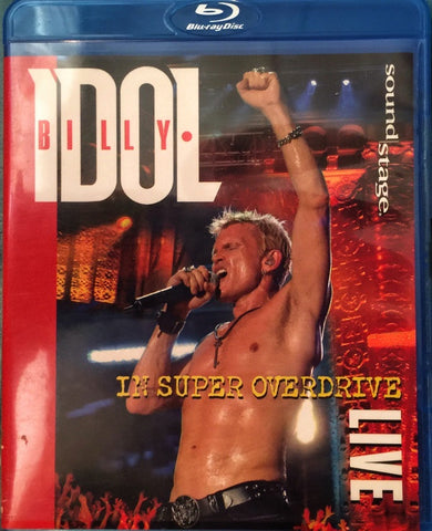 IDOL BILLY-IN SUPER OVERDRIVE LIVE BLURAY VG
