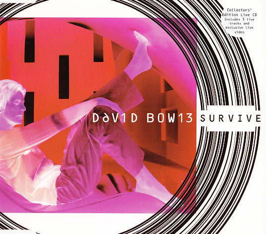 BOWIE DAVID-SURVIVE (PINK) CD SINGLE VG