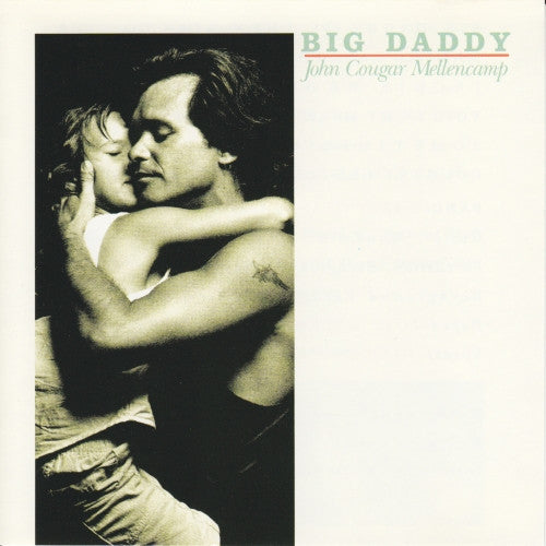 MELLENCAMP JOHN COUGAR-BIG DADDY CD VG