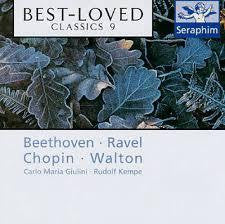 BEST LOVED CLASSICS 9-VARIOUS CLASSICAL CD VG