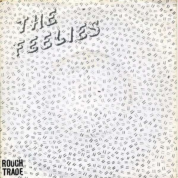 FEELIES THE-RAISED EYEBROWS 7'' SINGLE VG+ COVER VG+