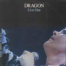 DRAGON-LIVE ONE LP NM COVER VG