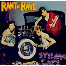 STRAY CATS-RANT N' RAVE WITH THE STRAY CATS LP VG+ COVER VG+