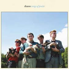 SHAME-SONGS OF PRAISE LTD SKY BLUE LP *NEW*