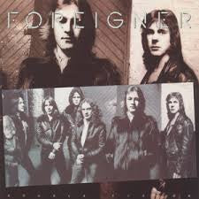 FOREIGNER-DOUBLE VISION LP VG+ COVER VG+