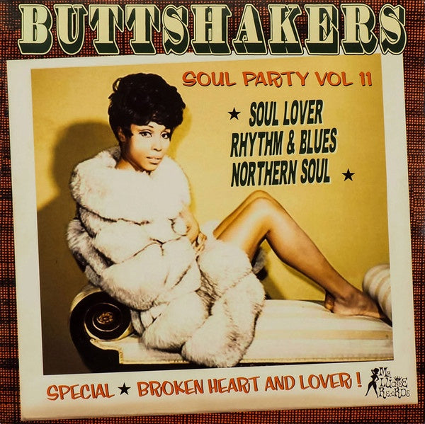 BUTTSHAKERS VOL 11-VARIOUS ARTISTS LP *NEW*