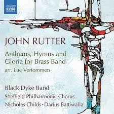 RUTTER JOHN-ANTHEMS, HYMNS AND GLORIA FOR BRASS BAND CD *NEW*