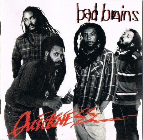 BAD BRAINS-QUICKNESS CD VG