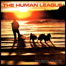 HUMAN LEAGUE THE -TRAVELOGUE LP VG+ COVER VG+