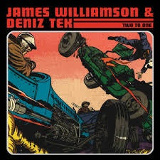 WILLIAMSON JAMES & DENIZ TEK-TWO TO ONE YELLOW VINYL LP *NEW*