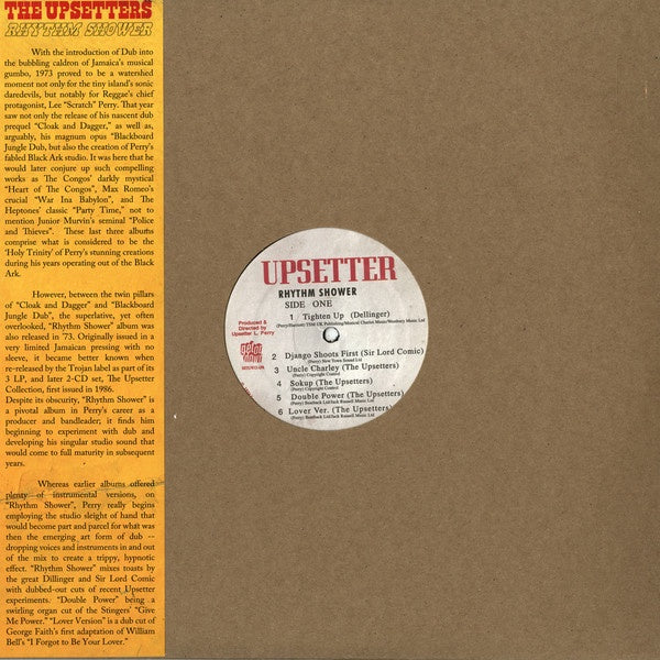 UPSETTERS THE-RHYTHM SHOWER LP *NEW*