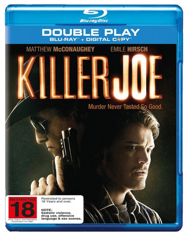 KILLER JOE BLURAY VG+