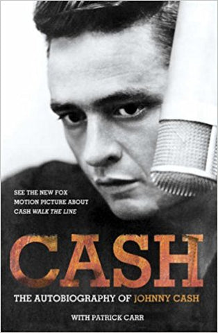 CASH JOHNNY-THE AUTOBIOGRAPHY OF JOHNNY CASH BOOK *NEW*