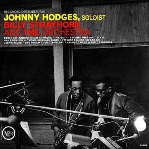 HODGES JOHNNY-WITH BILLY STRAYHORN & THE ORCHESTRA LP VG COVER G