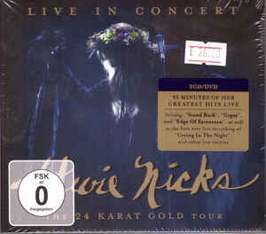 NICKS STEVIE-LIVE IN CONCERT THE 24 KARAT GOLD TOUR 2CD+DVD *NEW*