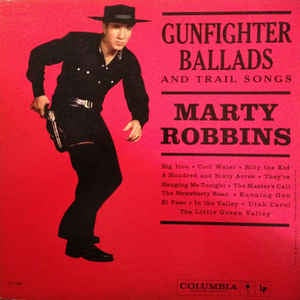 ROBBINS MARTY-GUNFIGHTER BALLADS AND TRAIL SONGS CD VG