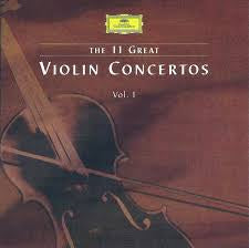11 GREAT VIOLIN CONCERTOS VOLUME 3-VARIOUS ARTISTS CD VG