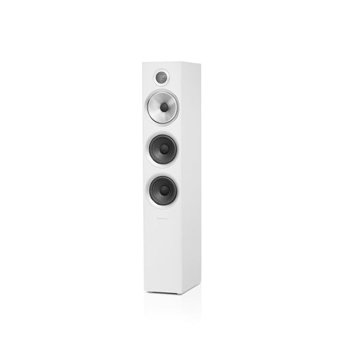 B&W-704 S2 WHITE FLOORSTANDING SPEAKERS *NEW*