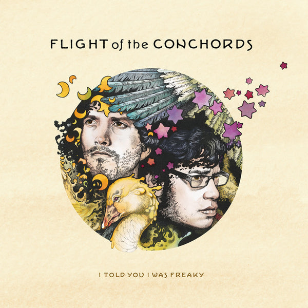 FLIGHT OF THE CONCHORDS-I TOLD YOU I WAS FREAKY LP *NEW*