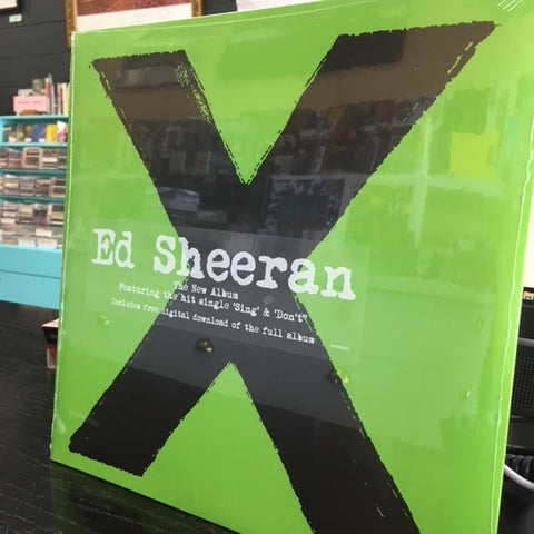 SHEERAN ED-X 2LP *NEW*
