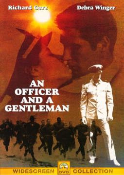 AN OFFICER AND A GENTLEMAN- DVD NM