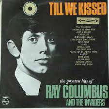 COLUMBUS RAY & THE INVADERS-TILL WE KISSED VG+ COVER VG+