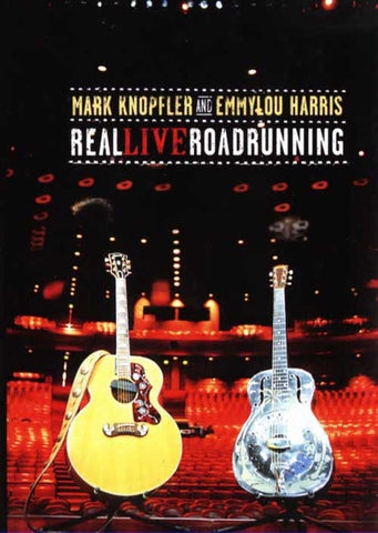 KNOPFLER MARK AND EMMYLOU HARRIS-REAL LIVE ROADRUNNING DVD VG+