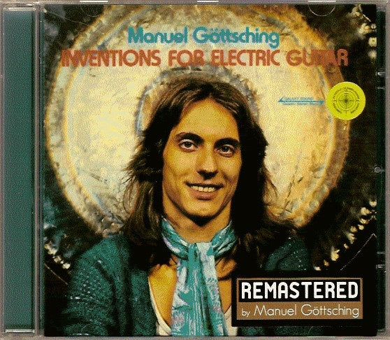 GOTTSCHING MANUEL-INVENTIONS FOR ELECTRIC GUITAR CD VG
