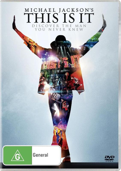 JACKSON MICHAEL-THIS IS IT DVD VG
