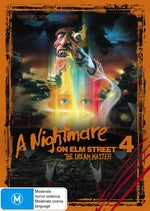 A NIGHTMARE ON ELM STREET 4-THE DREAM MASTER DVD VG
