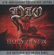 DIO-HOLY DIVER LIVE RED VINYL 3LP *NEW*
