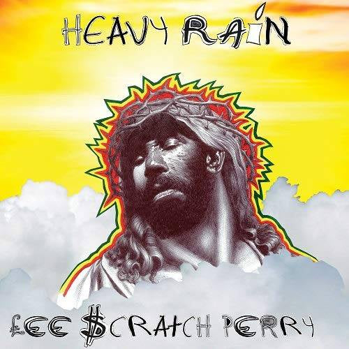 PERRY LEE SCRATCH-HEAVY RAIN SILVER VINYL LP *NEW*