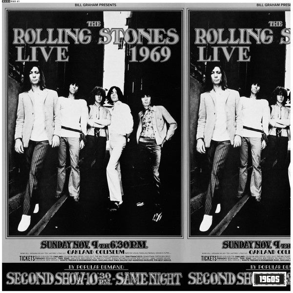 ROLLING STONES THE-LIVE AT THE OAKLAND COLISEUM 1969 LP *NEW*